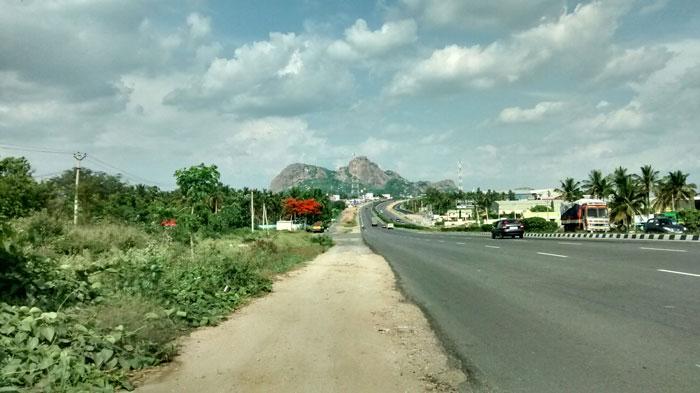 Road to Krishnagiri